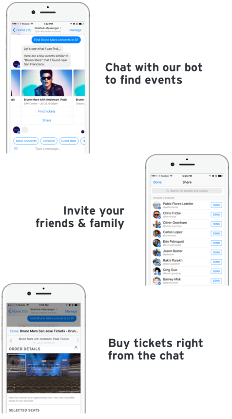 stubhub introduces new social tools to make planning organizing and