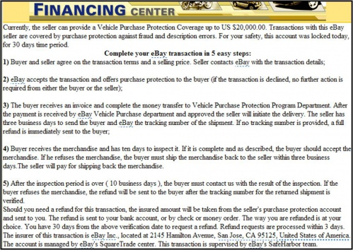 Car Buying Scams Military