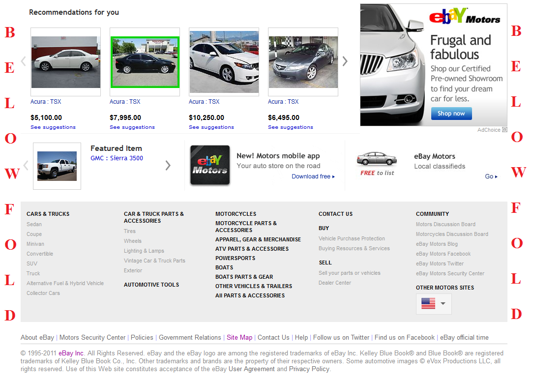 The New eBay Motors Homepage is 2X Faster