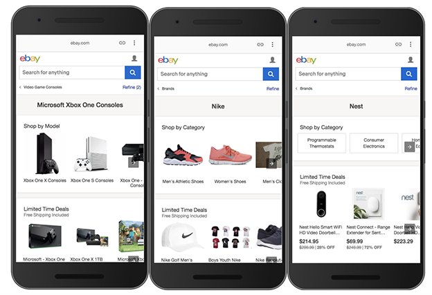 Exploring Progressive Web Apps to Enhance eBay's Mobile Experience