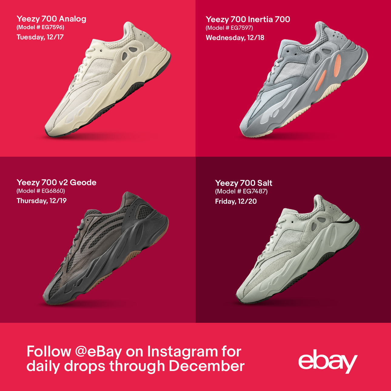 Ebay Eliminates Sneaker Seller Fees For The First Time And Unveils New December Drop Series