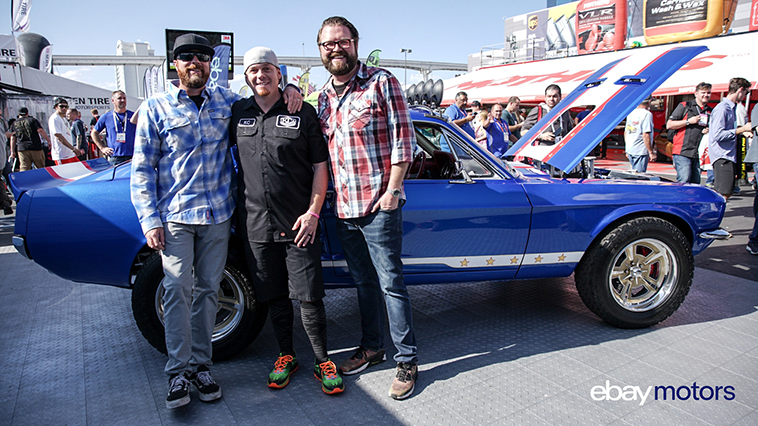 On The Road With Ebay Motors Crosses The Finish Line At Sema