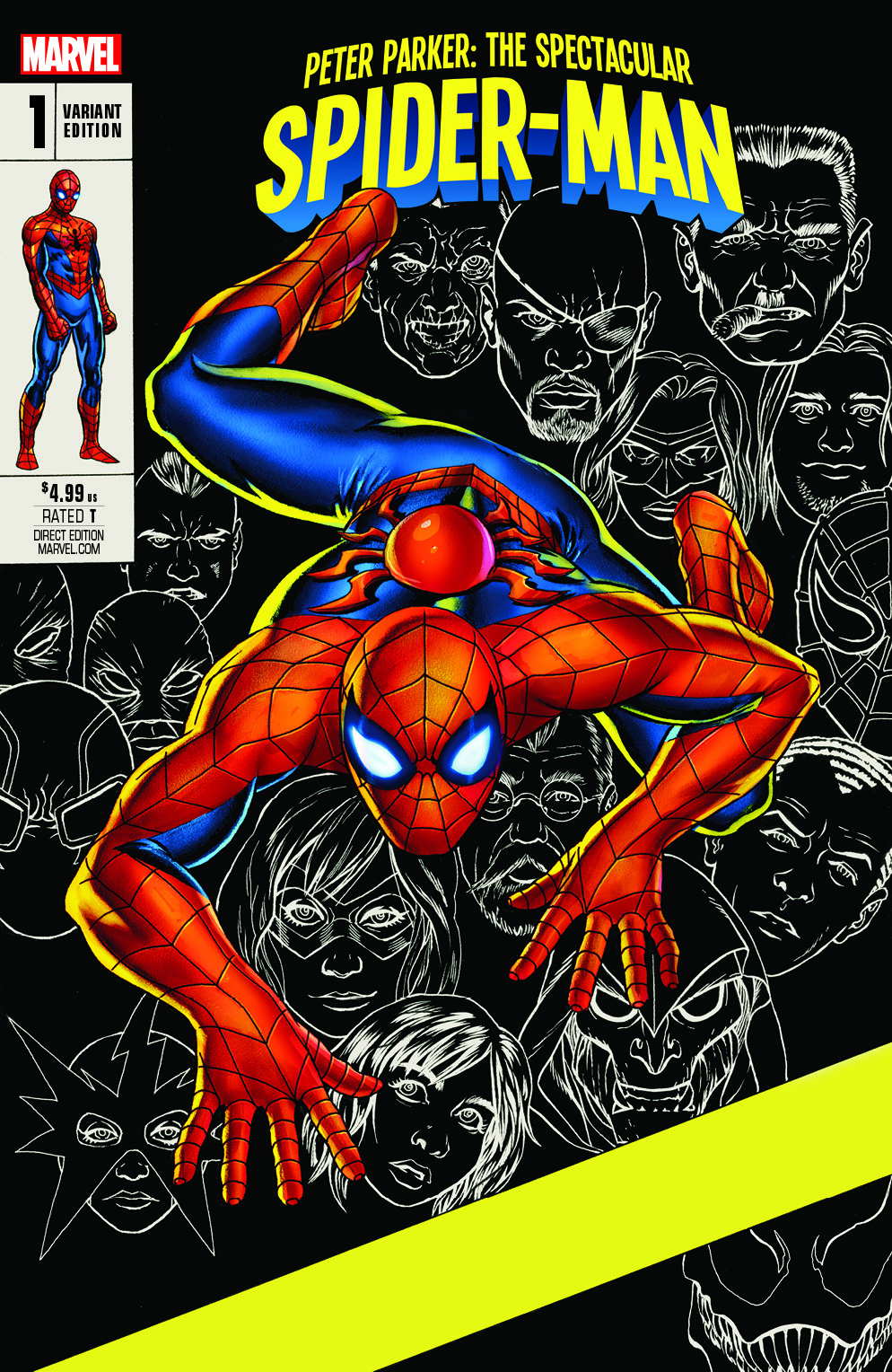 Exclusive Version of Marvel's New Spider-Man Comic Book