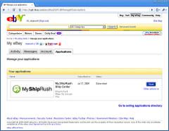 eBay SM App of the day: My ShipRush Ship Center