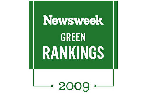 Newsweek Green Rankings 2009 Logo