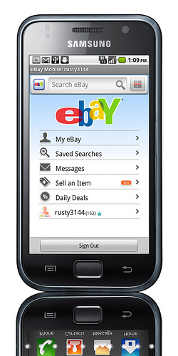 eBay for Android 1.5 - 1