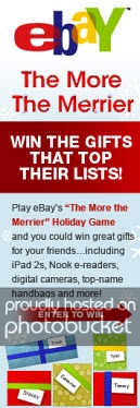 """eBay Launches """"The More the Merrier"""" Holiday Gift-Giving Sweepstakes"""